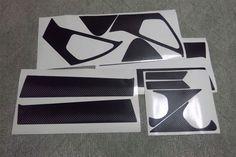 Nissan Juke carbon fiber pillars