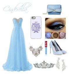 Cinderella's Midnight Wonders. by fashiongirl1306 on Polyvore featuring polyvore, fashion, style, Miu Miu, Mellow World, Kate Spade, Casetify, Kate Marie, Lime Crime and clothing