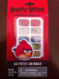 Angry Birds Birthday by WhitefishCreations on Etsy, $3.00