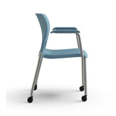Sit On It, InFlex Side Chair with Casters - 128 Conference, 217 Lift