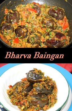 Brinjals/Ringana/Eggplants are delicate in flavor and absorb other flavors very well, I have used different spices with lots of coriander/cilantro and garlic to fill in. Brinjals/Ringana/Eggplants has plenty of Minerals and vitamins.
