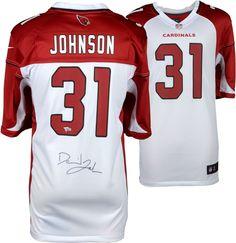 0ed8985f6 David Johnson Arizona Cardinals Autographed White Nike Game Jersey  #sportsmemorabilia #autograph #football