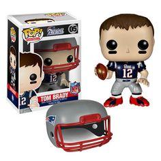 FUNKO NFL PATRIOTS Tom Brady Wave 1 Pop! Vinyl Figure - Awesome Toyz