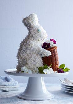 Coconut White Bunny Cake