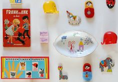 cute idea for kid's room wall decor