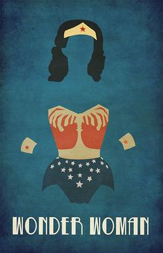 Wonder Woman poster art