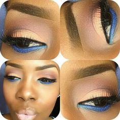 Eye glam... Beautiful...