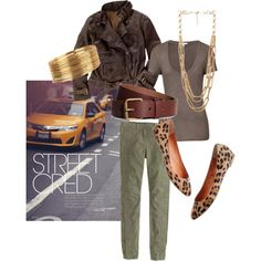 """""""Run Your Errands in Style"""" by kammy-kenman on Polyvore"""