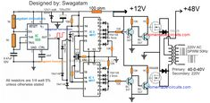 A vey basic yet reasonably efficient PWM based sinewwave inverter circuit can be studied under this post. The design utilizes very ordinary parts to accomplish a powerful SPWM type […] Electronic Circuit Design, Electronic Engineering, Dc Circuit, Circuit Diagram, Cool Electronics, Electronics Projects, Arduino Projects, Solar Power Inverter, Solar Panel Cost