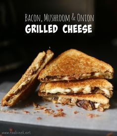 Mushroom Grilled Cheese Sandwich (aka The Mushroom Melt) Recipe ...