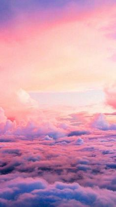 Colorful streaks during a sunset. Cloud Wallpaper, Galaxy Wallpaper, Wallpaper Backgrounds, Aesthetic Pastel Wallpaper, Aesthetic Backgrounds, Aesthetic Wallpapers, Pastel Clouds, Sky And Clouds, Pretty Sky