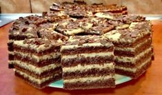 Romanian Desserts, Romanian Food, Dessert Bars, Dessert Recipes, Nutella, Sweet Tooth, Deserts, Food And Drink, Sweets