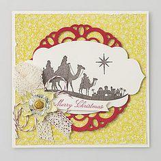 WS Come to Bethlehem mit Spitzendeckchen