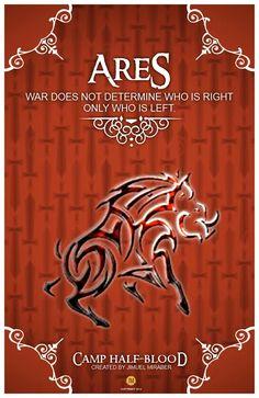 CHB Cabin Poster Ares by jimuelmaurer26.deviantart.com on @DeviantArt
