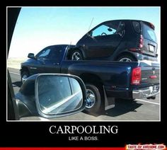 #Carpooling