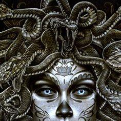 Polibotes-Gigante anti-Netuno.Polibotes mede trinta metros de altura e suas pernas répteis assemelham-se às de um dragão-de-Komodo. Seu rosto humano não disfarça a aparência intimidadora, uma vez que os cabelos são compostos de basiliscos, criaturas horríveis em formato de serpente. Por ter sido criado para matar Netuno, o gigante odeia filhos e legados do deus e tem o poder de transformar água em veneno com o simples toque. Foi derrotado pela última vez por Percy Jackson e o deus Término.