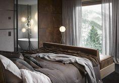 Bernd Gruber, Master Bedroom, Curtains, Projects, Inspiration, Furniture, Design, Home Decor, Master Suite