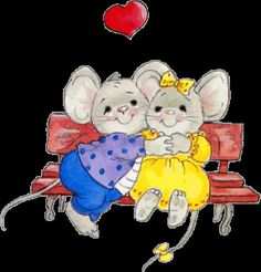 gifs amour saint valentin - Page 27 Gifs, Cute Paintings, Cute Mouse, Tole Painting, Baby Prints, E Cards, Coloring Pages, Doodles, Clip Art