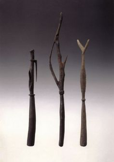 Torricelli Moutain Food Pounders, Papua New Guinea