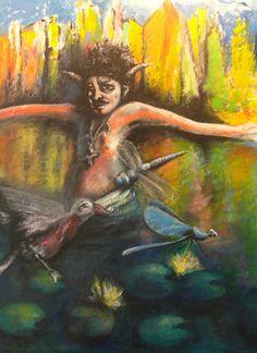 Central Park II - Mixed Media, Canvas, 2012