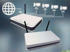 Image titled Connect One Router to Another to Expand a Network Step 1