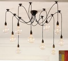 This would be the coolest light for a boys room! Industrial, simple, and modern.