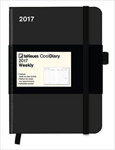 2017 Black Diary - teNeues Cool Diary - Weekly 16 x 22 cm: Amazon.co.uk: teNeues: 4002725784773: Books