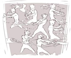 Action Pose Reference, Animation Reference, Drawing Reference Poses, Action Poses, Drawing Poses, Anatomy Reference, Drawing Tips, Sword Reference, Character Poses