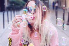 Always bubbly °.      °°°                                °
