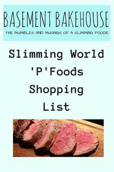 Recently I put together a list of all the Slimming World 'Speed Foods' which proved very useful to a lot of people, so I thought I'd follow it up with one for all of the 'P' or Protein foods on the plan.  Very simply these are all of the meats, fish, dairy and beans that have enough protein to be given the prestigeous 'P' symbol by Slimming World. Protein is essential when trying to slim down, and even more so if you're trying to build muscle at the same time....