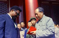 Robert F. Williams (1925 – 1996) meeting Mao Zedong, 1964  Williams was an American civil rights activist, leader, and author. He was best known for serving as president of the Monroe, North Carolina, chapter of the NAACP in the 1950s and early 1960s. At a time when racial tension was high and official abuses were rampant, Williams was a key figure in promoting armed black self-defense in the United States. He succeeded in integrating the local public library and swimming pool in Monroe.