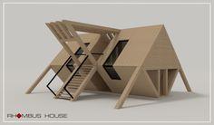 Small Cabin by Radu Bunusiu Maquette Architecture, Architecture Model Making, Conceptual Architecture, Architecture Concept Drawings, Architecture Details, Interior Architecture, Hotel Room Design, Kiosk Design, Arch Model