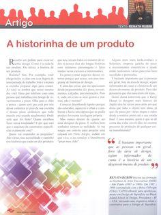 Artigo na Revista Aspacer   A historinha de um produto.