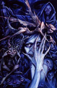 Brian Froud- 'Queen of the Bad Fairies'