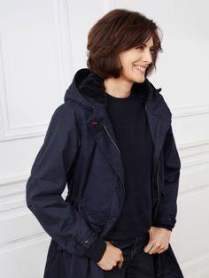 Women IDLF Mods Coat ~ Follow my board (La Parisienne @ Lyne Labrèche) for more inspiration!