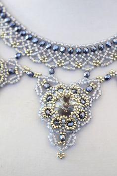 Beading pattern for necklace 'Deirdre'