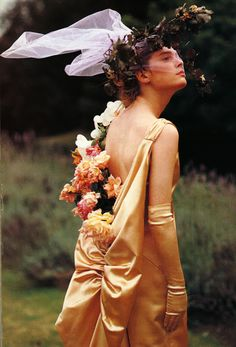 A Style That Could Grow on You I Vogue UK I December 1984 I Editor: Grace Coddington I Photographer: Bruce Weber.