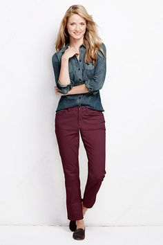 Just ordered these chinos (hope they fit!), but I do love how this shirt looks with them. I bet it they'd also look great with a plaid blazer ;)