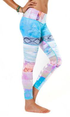 e19c9f7ec8792 Teeki Tarot Magick Hot Pant Teeki Yoga, Yoga Fashion, Fitness Fashion,  Running Fashion