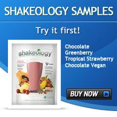 Shakeology Sample Packs