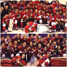 Canada's Men's and Women's 2014 Olympic Gold Medallists