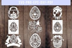 Ui Design Tutorial, Design Templates, Ios App Design, Easter Bunny, Easter Eggs, Happy Easter, Easter Art, Paper Cutting, Silhouette Studio Designer Edition
