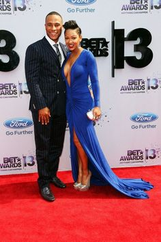 Megan Goode and Husband, Other Couples on the BET Awards Red Carpet