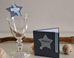 Marque place / porte nom ~ Décoration baptême, anniversaire, communion - thème…