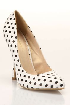 #Polka Dot Pumps  Women's Vests #2dayslook #fashion #Vests www.2dayslook.com