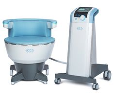 Trevor Born offers the non-invasive treatment Emsella to strengthen the pelvic floor muscles to treat patients with incontinence Urinary Incontinence, Muscle Contraction, Anti Aging Treatments, Spa Services, Pelvic Floor, Menopause, Flooring, Chair, Health
