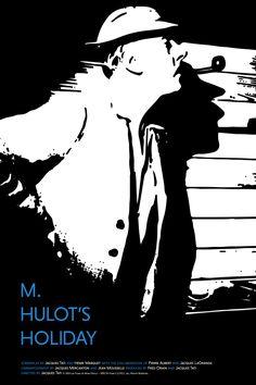 Poster for Monsieur Hulot's Holiday by Scott Saslow. #monsieurhulotsholiday #mhulotsholiday #monsieurhulot #jacquestati #50s #comedy #slapstick #classicfilm #foreignfilm #frenchcinema #criterioncollection #bfi #lesvacancesdemonsieurhulot #movieposter #graphicdesign #posterdesign #fanart #alternativefilmposter #alternativemovieposter #photoshop