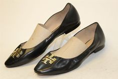 640890f38c1a Tory Burch MISMATCH Womens 10 11 M NEW Leather Pointy Toe Ballet Flats  Shoes enr