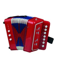 Another great find on #zulily! Red Toy Accordion by New Classic Toys #zulilyfinds