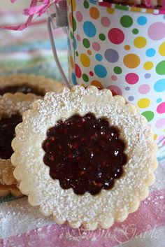 StoneGable: Linzer Torte Cookies